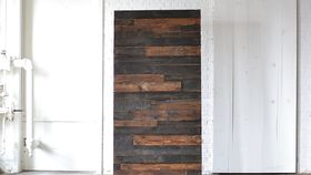 Image of a Stained Wooden Backdrop