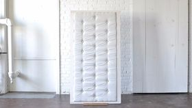 Image of a Tufted Backdrop