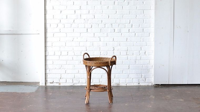Picture of a Rattan Side Table