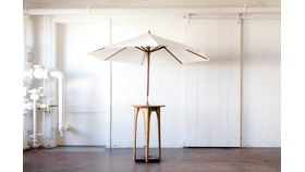 Aperture Cocktail Table with Umbrella image