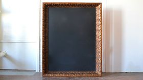 Image of a Oversized Frame with Chalkboard