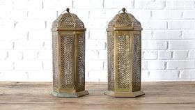 Image of a Brass Moroccan Lantern