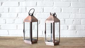 Image of a Classic Copper Lantern