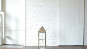Image of a Large Wooden Paned Lantern