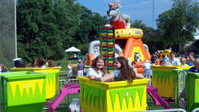 Image of a Turbo Tubs of Fun Ride