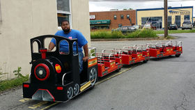 Image of a Royal Express Jr. Trackless Train