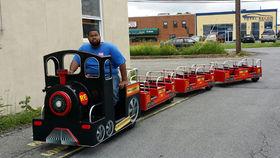 Image of a Royal Express Jr. Trackless Train