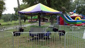 Image of a Kiddie Swing Ride