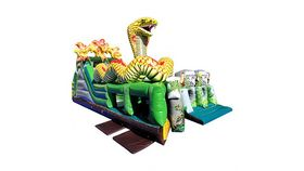 Image of a The Lost Jungle - King Cobra Inflatable Obstacle Course