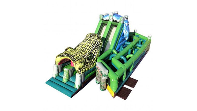Picture of a The Lost Jungle - Alligator Obstacle Course