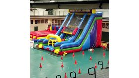 Image of a Vertical Rush Obstacle Course