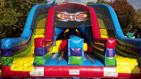 Image of a X-Factor Inflatable Obstacle Course