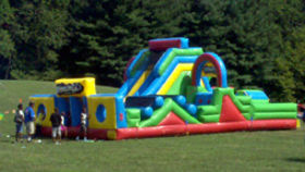 Image of a Adrenaline Rush Inflatable Obstacle Course