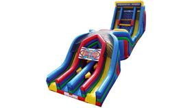 Image of a Juggernaut Inflatable Obstacle Course