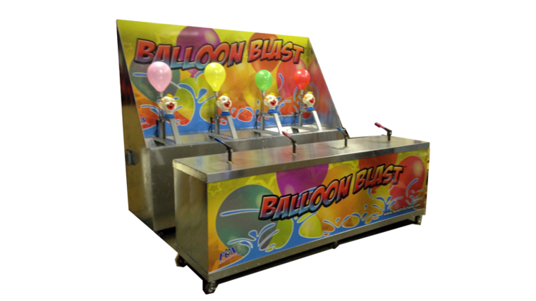 Image of a Water Balloon Race Game