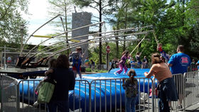 Image of a Extreme Air In Line Bungee Jumper