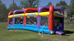 Image of a Boulder Dash Inflatable Challenge