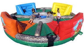 Image of a Hippo Chow Down Inflatable Game