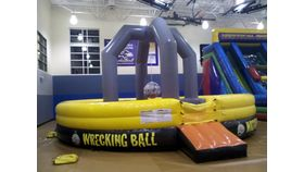 Image of a Wrecking Ball Inflatable Interactive