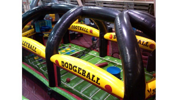 Picture of a All In One Inflatable Sports Arena