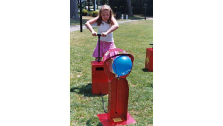 Picture of a Boom Blasters Balloon Popping Game