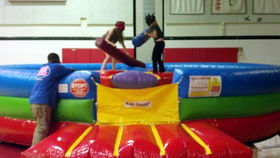 Image of a Wacky Rock & Joust Inflatable Game