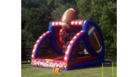 Image of a First Down Inflatable Football Challenge