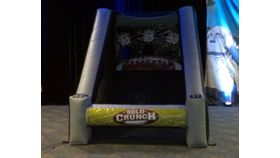 Image of a Crunch Time Inflatable Football Toss Challenge
