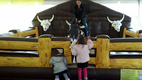 Image of a Mechanical Bull - Western Theme