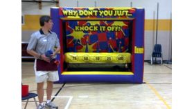 Image of a Knock It Off Inflatable Target Game