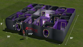 Image of a XTREME Laser Tag Arena