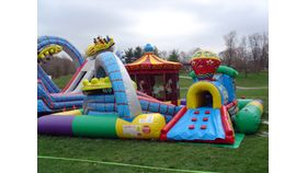 Image of a Inflatable Amusement Park
