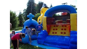 Image of a Inflatable Sea Park