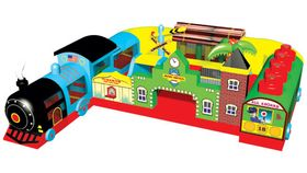 Fun Express Inflatable Train Station image