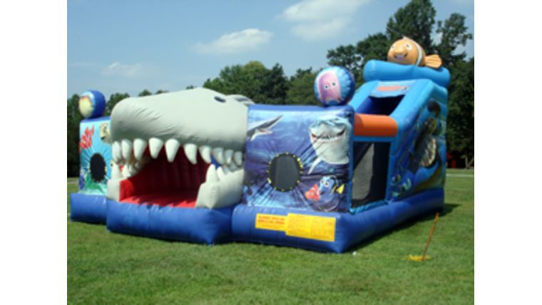 Picture of a Finding Nemo Inflatable Playland