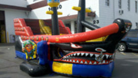Image of a Lil Pirates Inflatable Combo