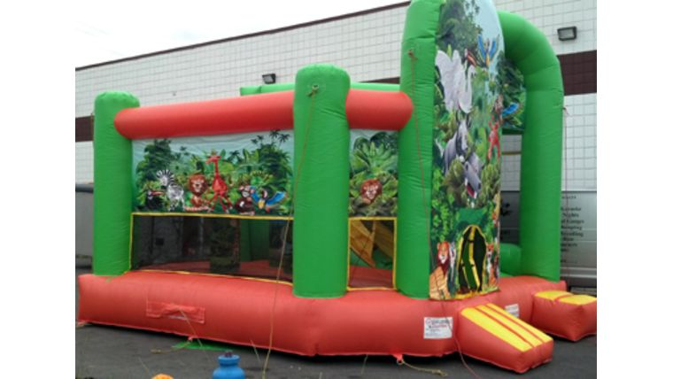 Jungle Mania Inflatable Combo : goodshuffle.com