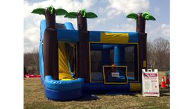 Aqua 5-In-1 Inflatable Combo image