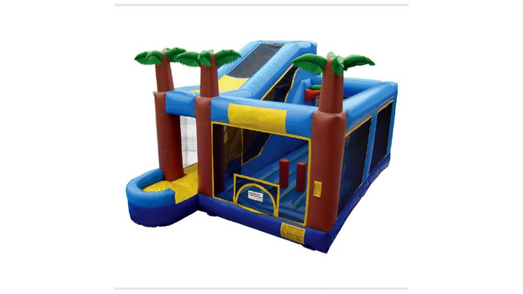 Picture of a Aqua 5-In-1 Inflatable Combo