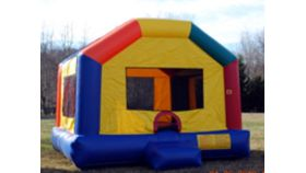 Image of a Small Party House Moonbounce