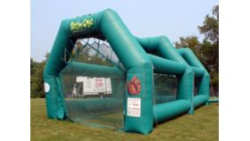 Image of a Inflatable Batting/Tennis Cage