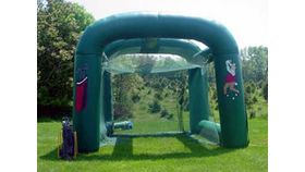 Image of a Inflatable Golf Driving Range