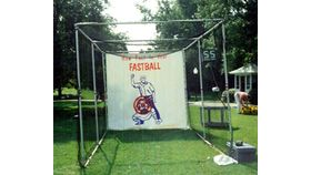 Image of a Baseball Speed Pitch - Pipe Cage