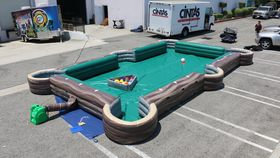Image of a Soccer Billiards
