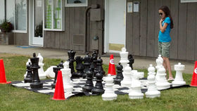 Image of a Giant Lawn Chess