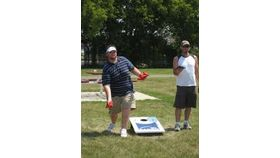 Image of a Baggo Bean Bag Toss Game
