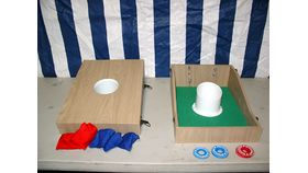 Image of a Bean Bag Toss & Washer Game