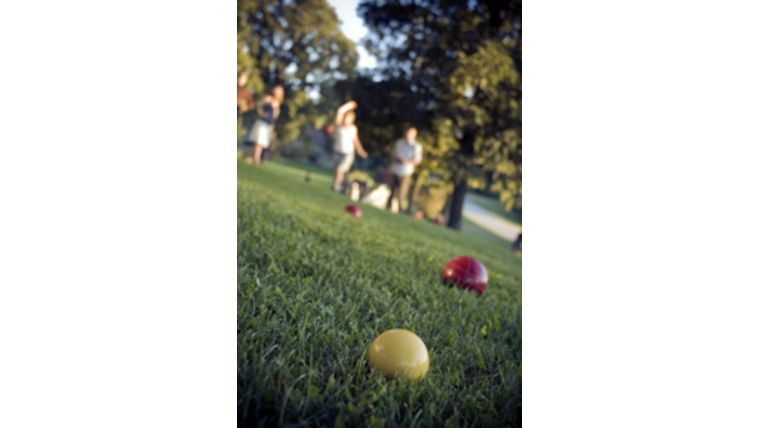 Picture of a Bocce Ball Set