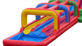 Image of a Triple Lindy Inflatable Slip and Slide
