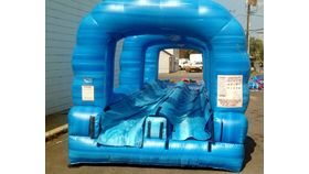 Image of a Blue Crush Inflatable Slip and Slide